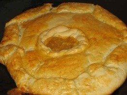 Дрожжевой лимонный пирог