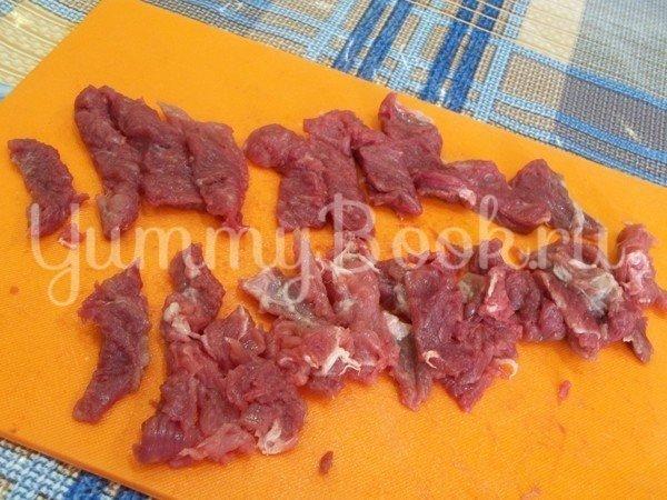 Бефстроганов из свинины - шаг 2