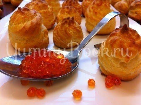 Закусочные сырные эклеры