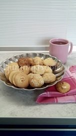 Песочное печенье с орехами на кефире - шаг 14