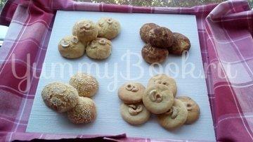 Песочное печенье с орехами на кефире - шаг 13