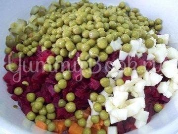 Овощной салат - шаг 7