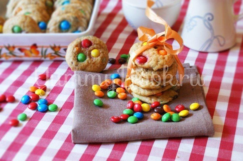 Печенье с конфетами M&M's - шаг 8