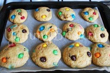 Печенье с конфетами M&M's - шаг 7
