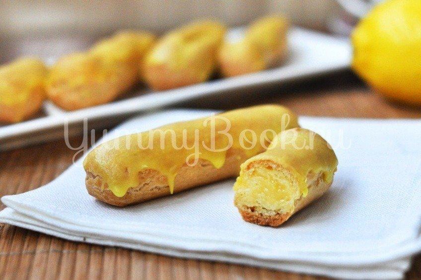 Эклеры с лимонным кремом