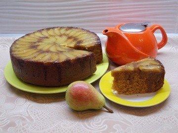 Грушево - имбирный десерт с мёдом