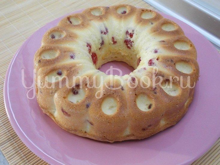 Ванильный кекс с сушеными вишнями - шаг 6
