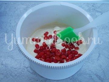 Ванильный кекс с сушеными вишнями - шаг 5