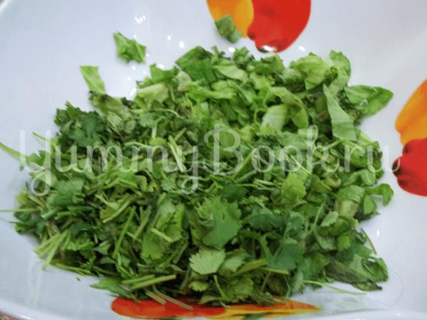 Свеженький овощной салат - шаг 2