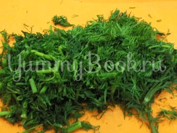 Свеженький овощной салат - шаг 3