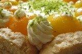 Абрикосовый торт с  кремом из маскарпоне