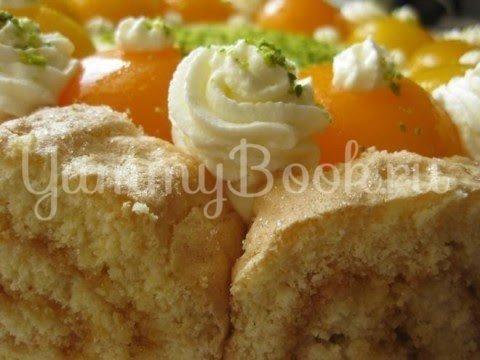 Абрикосовый торт с  кремом из маскарпоне - шаг 21
