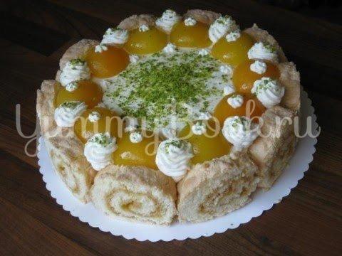 Абрикосовый торт с  кремом из маскарпоне - шаг 20