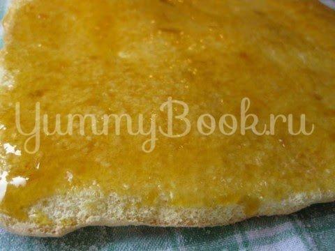 Абрикосовый торт с  кремом из маскарпоне - шаг 9