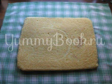 Абрикосовый торт с  кремом из маскарпоне - шаг 8