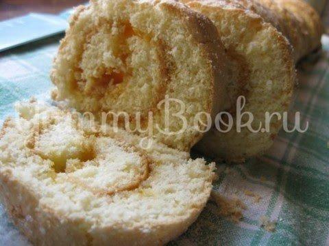 Абрикосовый торт с  кремом из маскарпоне - шаг 12