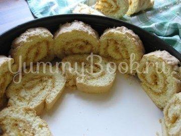 Абрикосовый торт с  кремом из маскарпоне - шаг 13