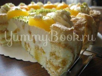 Абрикосовый торт с  кремом из маскарпоне - шаг 22