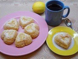Лимонные кексы