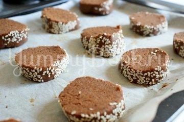 Кофейно-шоколадное печенье - шаг 7
