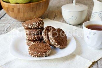 Кофейно-шоколадное печенье - шаг 9