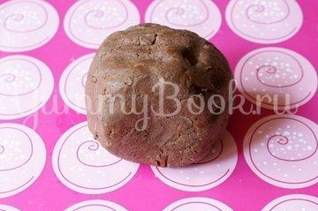 Кофейно-шоколадное печенье - шаг 3
