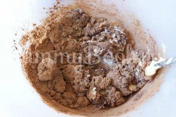 Кофейно-шоколадное печенье - шаг 2