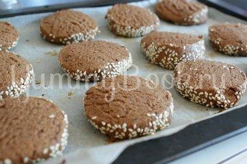 Кофейно-шоколадное печенье - шаг 8