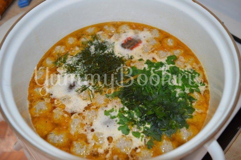 Суп с фрикадельками - шаг 5