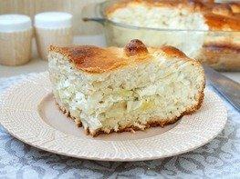 Дрожжевой пирог с начинкой