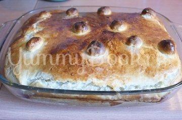 Дрожжевой пирог с начинкой - шаг 7