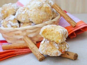 Печенье с морковью и корицей
