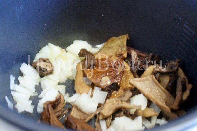 Банош с грибами в мультиварке - шаг 1