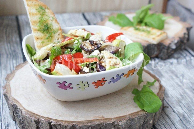 Салат из печеных овощей с фетой - шаг 7