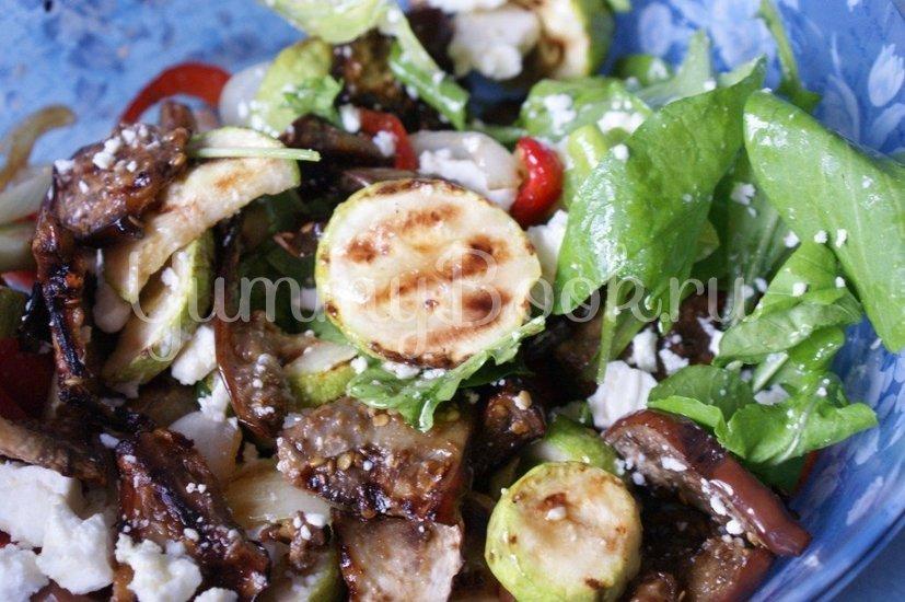 Салат из печеных овощей с фетой - шаг 6