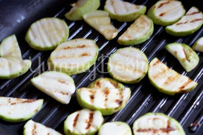 Салат из печеных овощей с фетой - шаг 2