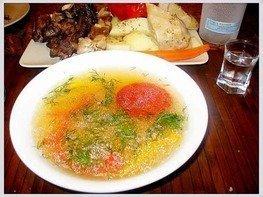 Суп паровой с нутом и бараниной