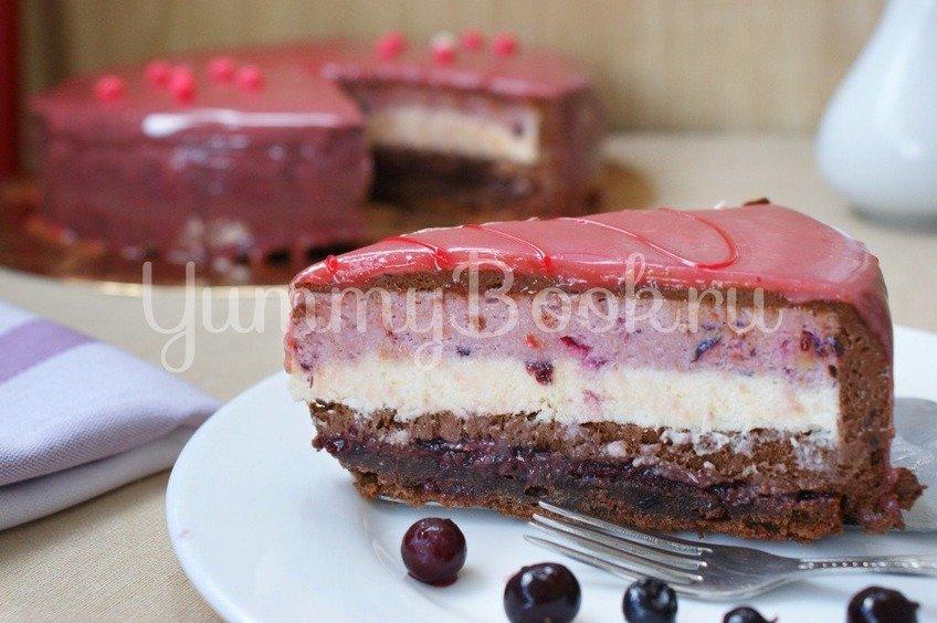 Муссовый торт со смородиной
