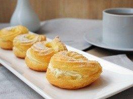 Заварные пирожные «Творожное кольцо»