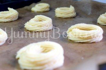 Заварные пирожные «Творожное кольцо» - шаг 6