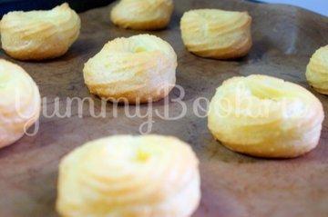 Заварные пирожные «Творожное кольцо» - шаг 7
