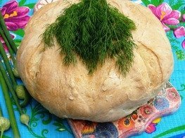 Хлеб пышный