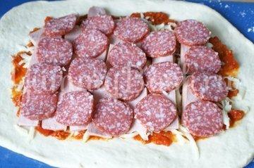 Пицца-рулет Стромболи - шаг 6