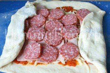 Пицца-рулет Стромболи - шаг 7