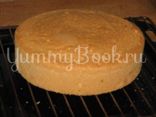 Бисквит для тортов за 30 мин