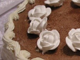 Белковый крем для тортов