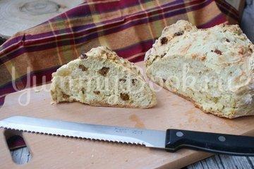 Содовый хлеб с изюмом - шаг 5