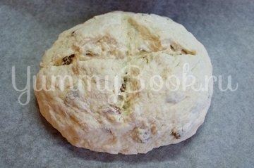 Содовый хлеб с изюмом - шаг 3