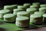 Макаронс с зеленым чаем