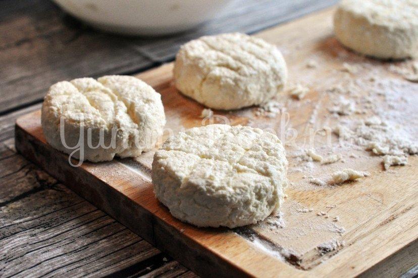 Сырники с крем-сыром - шаг 7
